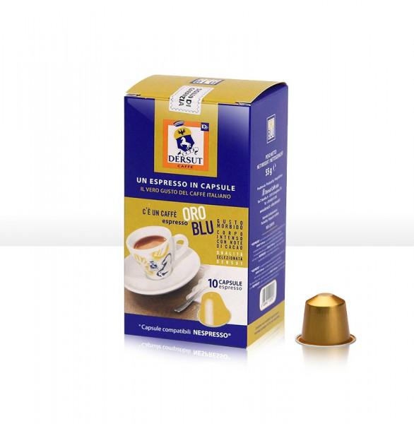 Oro Blu Capsule Caffè compatibili NESPRESSO