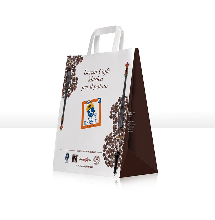 Borse Di Carta Stampate : Borse di carta dersut caff?