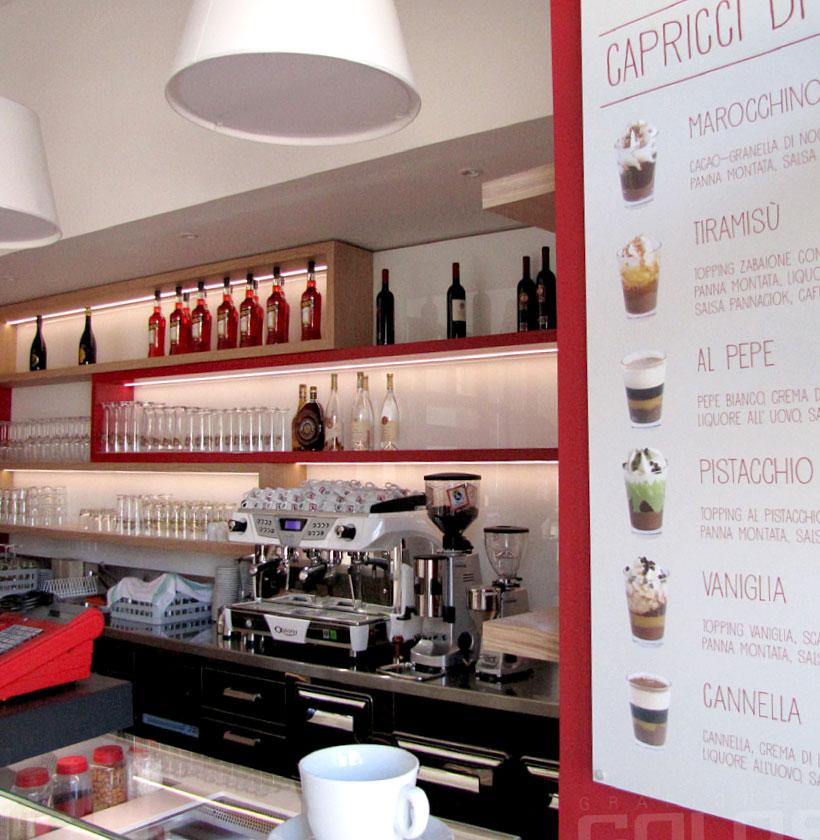 Rinnovare bar o caffetteria
