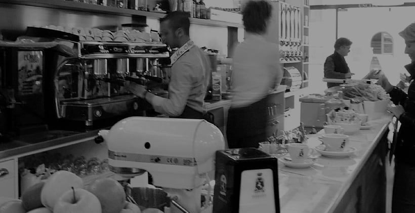 Merchandising caffè
